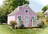 Деревянный домик Алиса