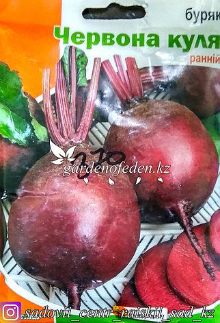 """Семена пакетированные Яскрава. Свекла """"Красный шар"""", фото 2"""