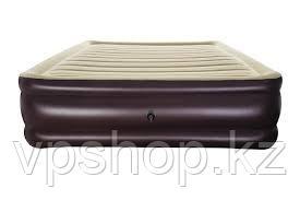 Двуспальный надувной матрас-кровать 203х152х43 см, Bestway 67597