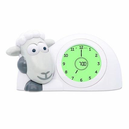 Часы-будильник для тренировки сна Ягнёнок Сэм (SAM) ZAZU (серый)