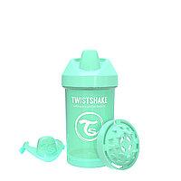 Поильник Twistshake Crawler Cup Pastel. 300 мл. Зелёный. Возраст 8+m
