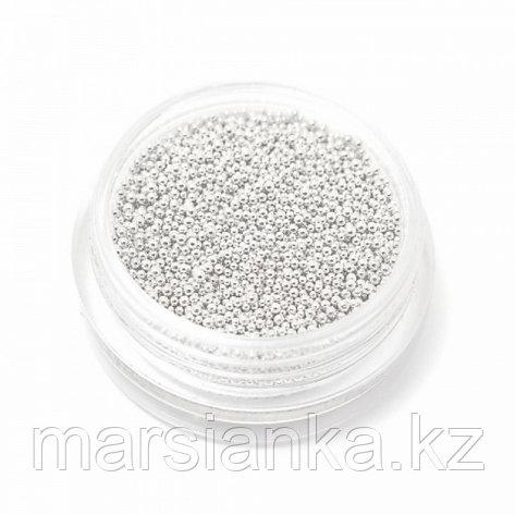 Бульонки металлические (сребро) 2,5гр, фото 2