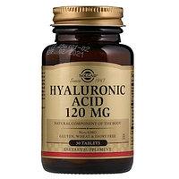 Solgar, Гиалуроновая кислота, 120 мг., 30 таблеток
