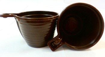 Чашка кофейная коричнева, фото 2