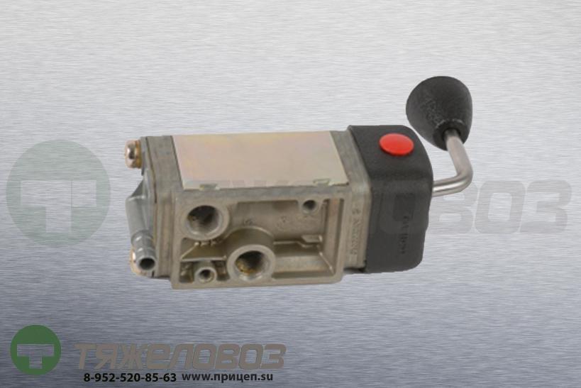 Кран тормозной ручной МАЗ Евро, КАМАЗ 9617210000