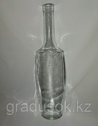 """Бутылка стеклянная """"Эвелина"""" 0,5 л с корковой пробкой, фото 2"""
