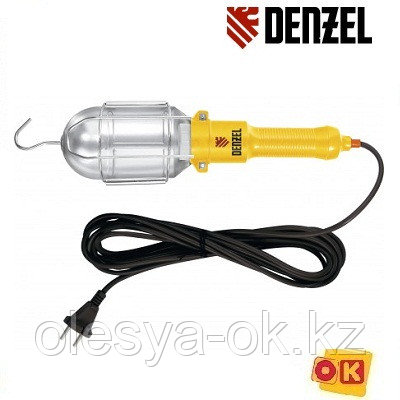 Лампа переносная 60 W, кабель 5 м. DENZEL, фото 2