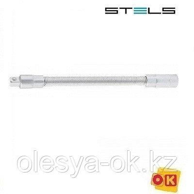 Гибкий удлинитель 150 мм, под квадрат 1/4. STELS