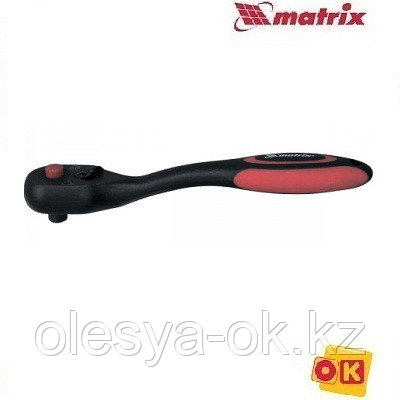 Ключ-трещотка 1/4, 72 зуба. MATRIX, фото 2