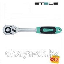 Ключ-трещотка 1/2, 72 зуба, STELS