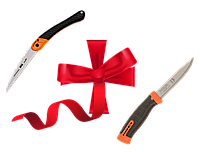 Набор Ножовка + Нож GIFTPACK396-HP2