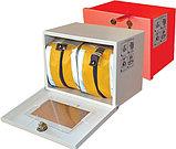 Самоспасатель (УФМС) «Шанс» -Е с полумаской (базовая модель) в футляре-контейнере для хранения, фото 3
