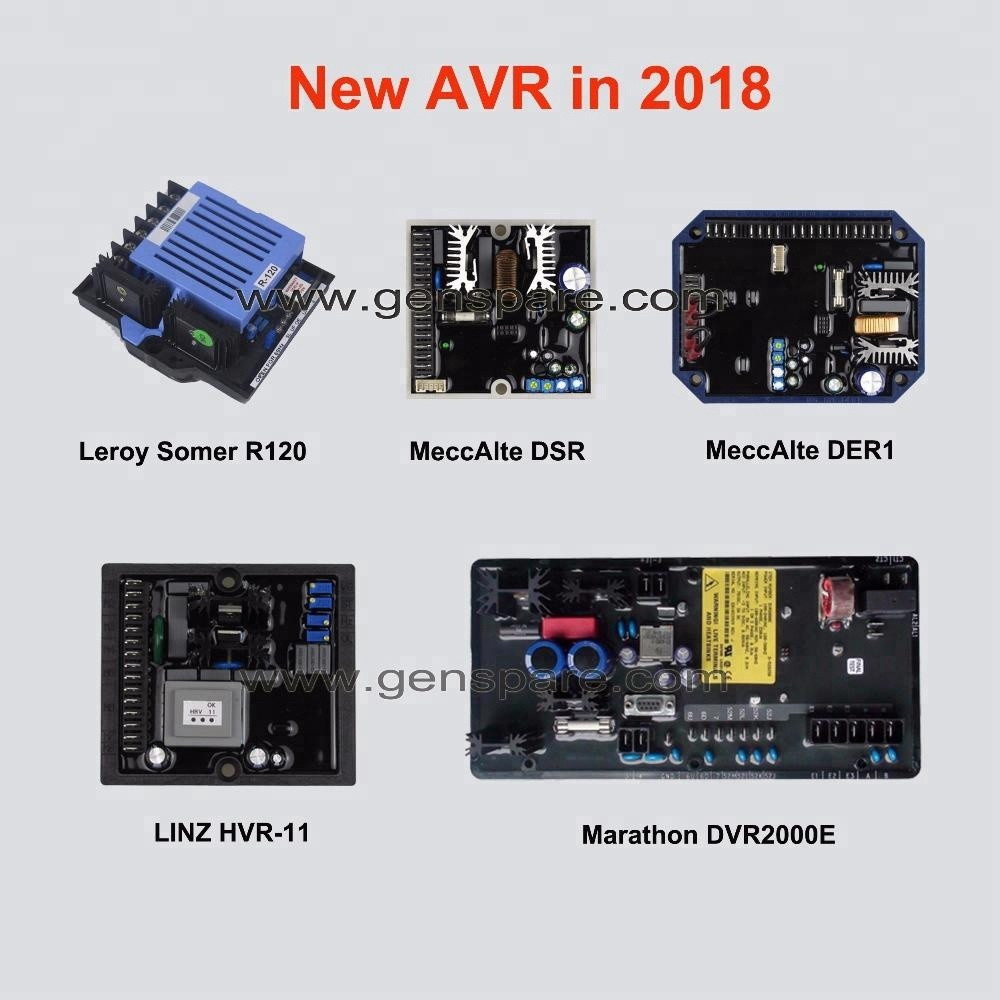 Genset Generator AVR Автоматический регулятор напряжения