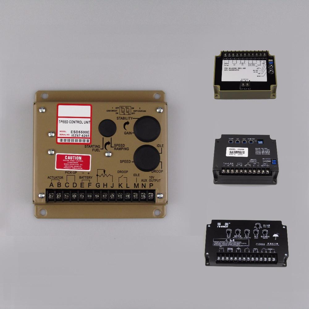 Genset Speed Controller Блок управления скоростью