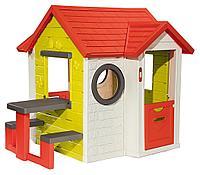 Игровой детский домик со столом 810401 Smoby Франция