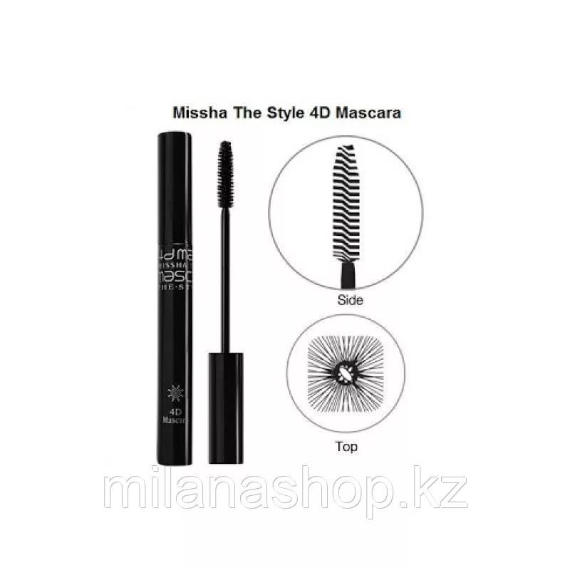 Missha The Style 4D Mascara -  Тушь для ресниц