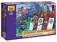 Сборная модель Набор солдатиков Самураи-пехота 16-17 вв н.э., фото 1