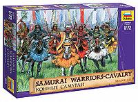 Сборная модель-Набор солдатиков Конные самураи 16-17 вв. н.э., фото 1