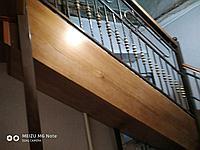 Лестница кованная с перилами, фото 1