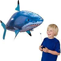 Летающая рыба Акула R/C Air Swimmers Remote Control Flying Shark (синяя)
