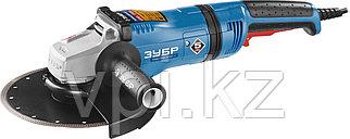 Угловая шлифовальная машина 230-2100 ПВ ЗУБР