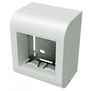 PDM Коробка монтажная под 2 модуля 45X45 мм