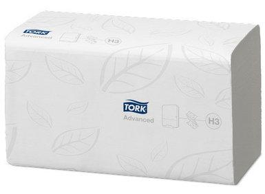 Листовые полотенца Tork Advanced сложения Singlefold