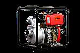 Мотопомпа дизельная MAGNETTA DP80-178, D80 мм, 30-55 м.куб/ч, фото 2