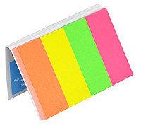 Закладки бумажные 20*50мм, 4 цвета, 160 листов