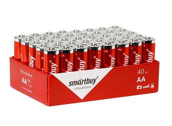 Батарейка алкалиновая Smartbuy LR6-40 bulk (АА, 1,5V)