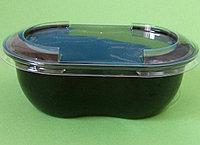Контейнер СпК-1409 375 мл черный с крышкой
