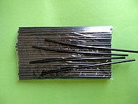 Трубочки для коктейля с длинной гофрой 100шт/6*28 черные