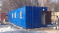 Модульное здание на базе 40 футового морского контейнера!
