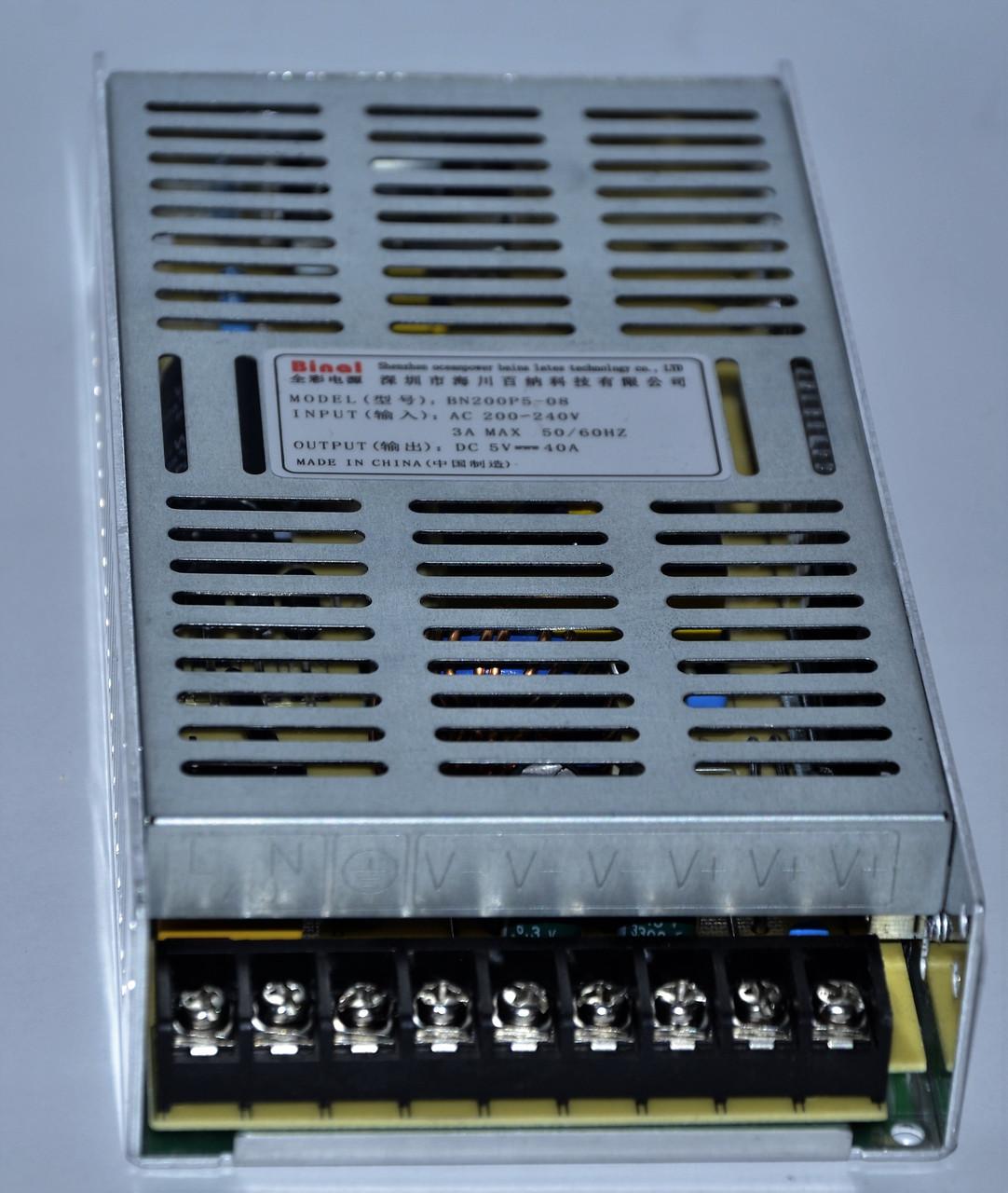 Блок питание BN200P5-08 5V-40A-200W
