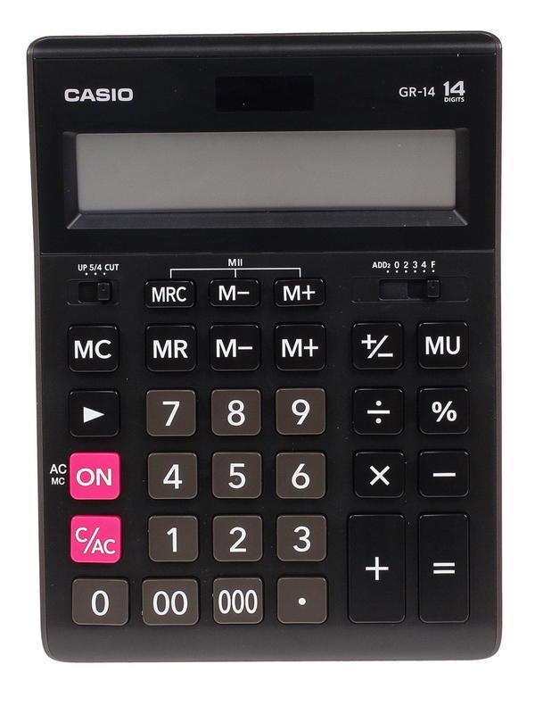 Калькулятор Casio GR-14