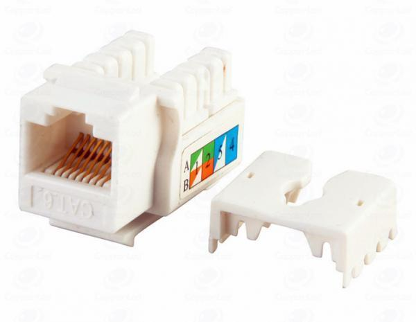 Модуль Keystone, RJ45 Port, Cat.5E, UTP, 110