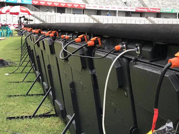 Спортивный  периметр led Экран для стадиона (видеоборт)  (НАРУЖНЫЙ) SMD, P10-2S, фото 2