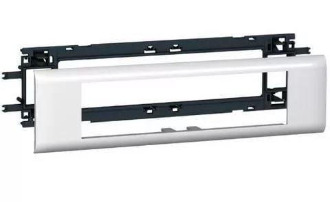 10958 Legrand Суппорт/Рамка 8 Модулей DLP Крышка 65мм