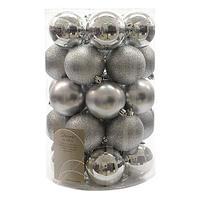 Шар серебристый глянцевый/матовый KA023305