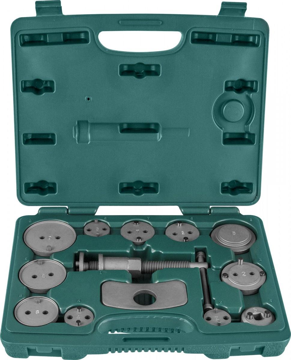Комплект инструмента для развода поршней тормозных цилиндров, 11 предметов AN010001