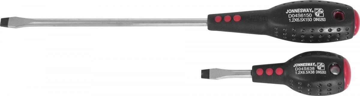 Отвертка стержневая шлицевая FULL STAR, SL5.5х150 мм D04S5150
