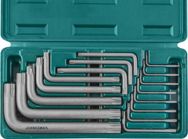 H0816S Набор ключей торцевых TORX Т6-70, 16 предметов