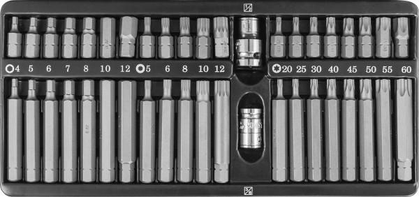 Набор вставок-бит 10 мм DR с переходниками, 42 предмета S29H4142SM