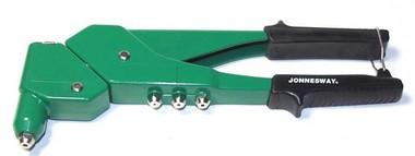 Заклепочник ручной рычажный с поворотной головкой, 2.4 - 4.8 мм V1004