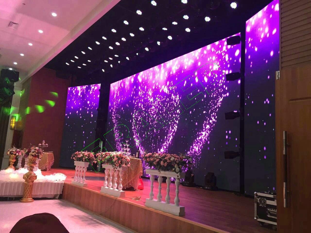LED экран Р-4 INDOOR, размер 4,096м*3,072м-12.59 кв.м (512мм*512мм) АРЕНДНЫЙ