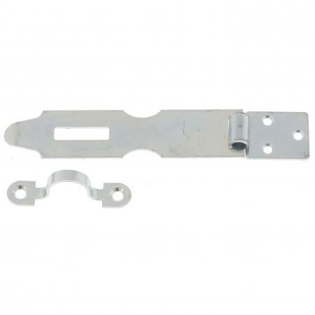 Накладка дверная НД1 (L-125 мм), цинк, 5 шт, (Металлист). Россия
