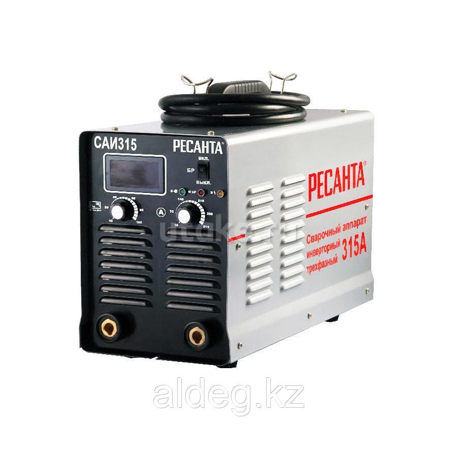 Сварочный аппарат инверторный САИ 315 Ресанта