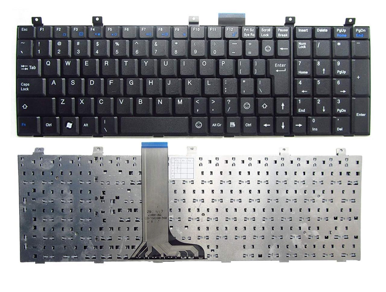 Клавиатура для ноутбука MSI CR500 CR500X