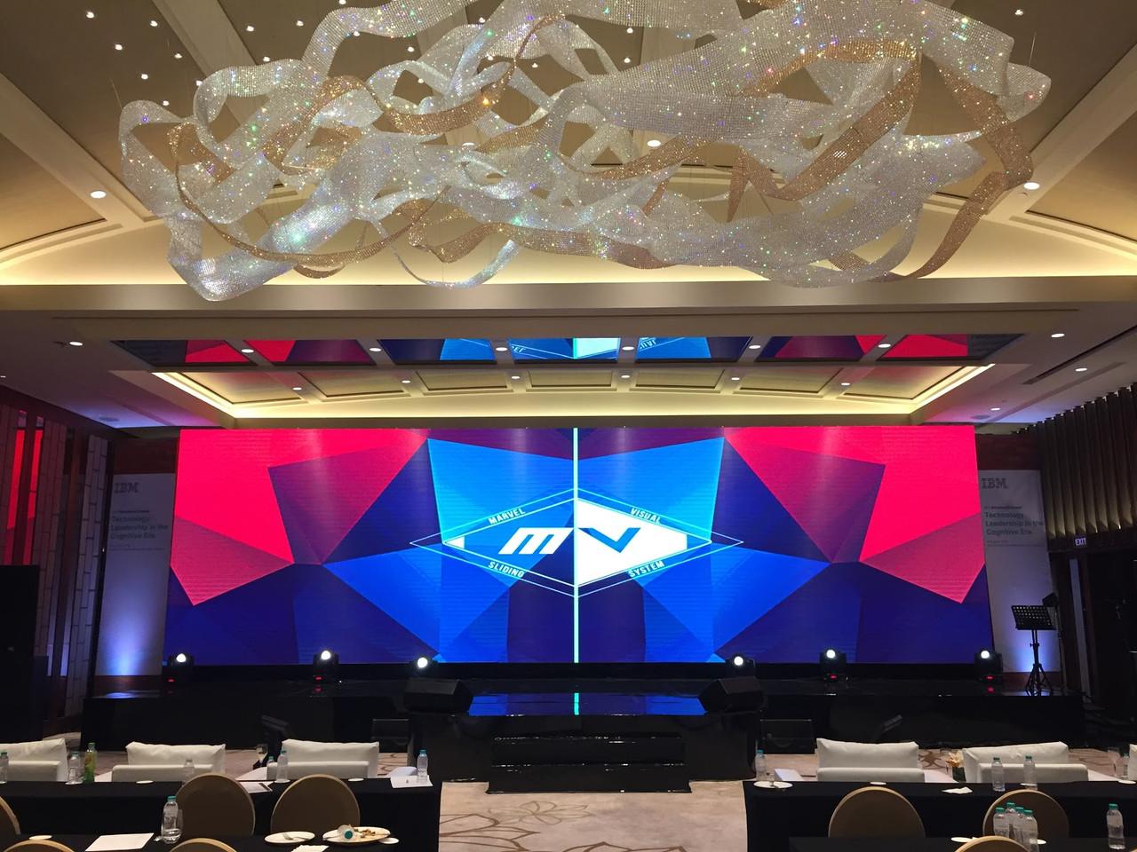 LED экран SMD Р-3 INDOOR, размер 6,336м*3,456м-21,89кв.м (576мм*576мм) АРЕНДНЫЙ