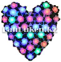 Светодиодные гирлянды в форме сердце с розами (27*28 см)